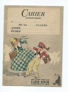 LION NOIR Cahier 16p + Couverture 1 Page écrite  5 Scans Bien 185 X 135 - Produits Ménagers