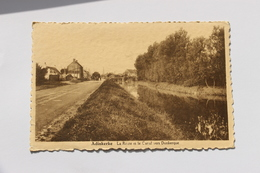 36705  -    Adinkerke  La  Route Et  Le Canal  Vers Dunkerque - De Panne