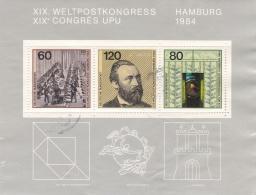 Germany 1984 Hamburg XIX Congre UPU - Used   (H25) - UPU (Wereldpostunie)
