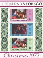Trinidad & Tobago 1972 Christmas Souvenir Sheet - MNH/**    (H25) - Weihnachten