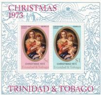 Trinidad & Tobago 1973 Christmas Souvenir Sheet - MNH/**    (H25) - Weihnachten