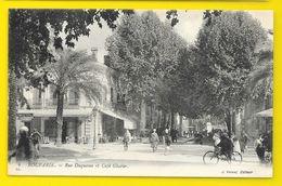 BOUFARIK Rue Duquesne Et Café Glacier (Vernet) Algérie - Algérie