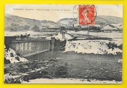 BOGHARI Le Pont De Chétif Sous La Neige (Castelli) Algérie - Autres Villes