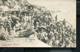 CROATIA ABBAZIA 1909 SEEBAD QUITTA PHOTO POSTCARD ..ATELIER MAYER... - Croatia