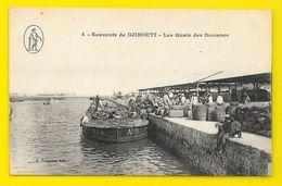 DJIBOUTI Les Quais Des Douanes (Vorperian) - Gibuti
