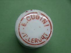 Bouchon En Porcelaine - VILLERUPT . B CUGINI - à Identifier ? - Other