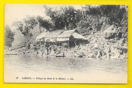 SAÏGON Village Au Bord De La Rivière (LL) Viet Nam - Viêt-Nam
