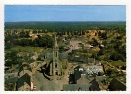 CP 10*15-J1272-LANDEBIA L EGLISE CIMETIERE ET LE BOURG VUE AERIENNE - France