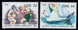 IRLANDA 1992 - IRELAND - EIRE - OLYMPICS BARCELONA 92 - YVERT Nº 785-786 - MICHEL 782-783 - SCOTT 854-855 - Verano 1992: Barcelona