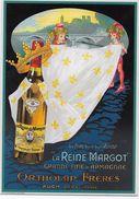 CPM - Publicité - La Reine Margot -Grand Fine D'Armagnac Or, Tholan Fréres. - Pubblicitari