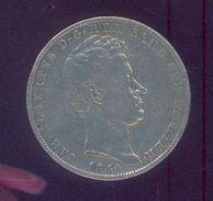 ITALIE – Royaume De SARDAIGNE – Charles Albert  – 5 Lires 1844 - Argent - Piemonte-Sardegna, Savoia Italiana