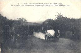 Les Gardner Serpollet En Course - Dans La Côte De GAILLON - Premier Cent à L'heure En Rampe 10 % - 1902 - Turismo