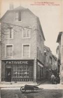 15 - CHAUDESAIGUES - Rue Marchande - Pâtisserie Paul Roux (impeccable) - Other Municipalities