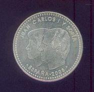 ESPAGNE– Juan Carlos I Y S0FIA- 12 Euros 2008 – Argent – Année Internationale Pour La Planète Terre – Fleur De Coin - Spain