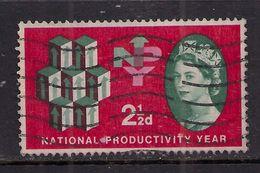 GB 1962 QE2 2 1/2d Productivity Year Used Stamp SG 631 ( E664 ) - 1952-.... (Elizabeth II)