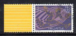 XP3365 - SVIZZERA , 1981 : Posta Aerea Serie Unificato N. 48 Usata . - Usados