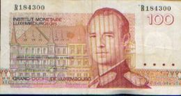 LUXEMBOURG – 100 Francs – Institut Monétaire Luxembourgeois (1993) - Luxembourg