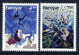 FAROE ISLANDS 1997 Europa: Sagas And Legends MNH / **.  Michel 317-18 - Faroe Islands