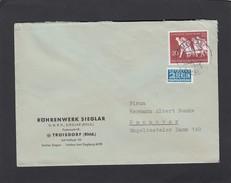 RÖHRENWERK ,SIEGLAR. STEMPEL:SIEGLAR ÜBER TROISDORF. - Briefe U. Dokumente
