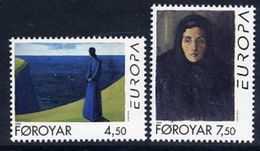 FAROE ISLANDS 1996 Europa: Famous Women MNH / **.  Michel 296-97 - Faroe Islands