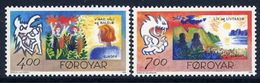 FAROE ISLANDS 1995 Europa: Peace And Freedom  MNH / **.  Michel 278-79 - Faroe Islands