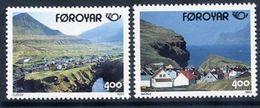 FAROE ISLANDS 1993 Nordic Countries: Tourism  MNH / **.  Michel 246-47 - Faroe Islands
