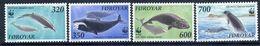 FAROE ISLANDS 1990 Nature Protection: Whales  MNH / **.  Michel 203-06 - Faroe Islands