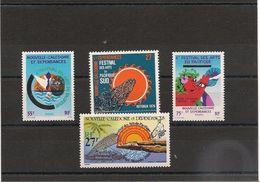 NOUVELLE CALÉDONIE Arts Années 1976/85 N°Y/T :397-505/06-P.A.205** - Nouvelle-Calédonie