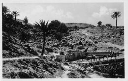 "06688 ""LIBIA - GARIAN - ACQUEDOTTO MIMUNA""  ANIMATA, CAVALLI, FOTO GENAH. CART NON SPED - Libya"