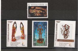 NOUVELLE CALÉDONIE Arts Années 1995-2006 N°Y/T :700-847-959-992** - Nouvelle-Calédonie