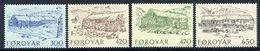 FAROE ISLANDS 1987 Old Farmhouses  MNH / **.  Michel 145-48 - Faroe Islands