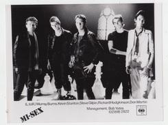 PHOTO PRESSE 18X24 / MI-SEX - ROCK NEW ZEALAND 1980 - Célébrités