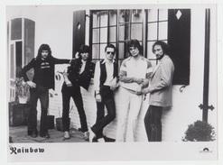 PHOTO PRESSE 18X24 / RAINBOW - HARD ROCK ANGLAIS 1980 - Personalità
