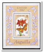 Anguilla 1982, Postfris MNH, Flowers - Anguilla (1968-...)