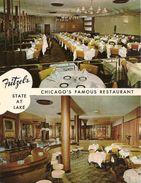 CPA-PUB-1955-USA-ILLINOIS-CHICAGO-RESTAURANT-FRITZEL¨S- Ft 14x18Cm-TBE - Etats-Unis