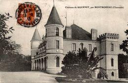 16 CHATEAU DE BOURNET PAR MONTMOREAU - Autres Communes