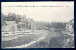 Cpa  Du 56 La Roche Bernard - Le Vieux Château Et L' Arrière Port  SEP17-41 - La Roche-Bernard