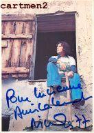AUTOGRAPHE DEDICACE NICOLAS PEYRAC - Autogramme & Autographen