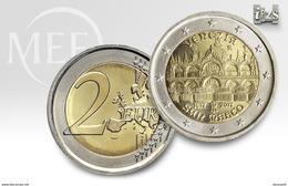 """Pièce  Commémorative 2 Euros  Italie  2017 UNC  """" Venise Place Saint Marco  """" - Italie"""