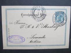 GANZSACHE Korrespondenzkarte Nieder Rochlitz Rokytnice - Lomnitz Anton Pohl Passek  1900/// D*27777 - 1850-1918 Imperium
