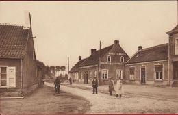 Middelburg Kasteelstraat Maldegem Meetjesland Geanimeerd Tramstatie Bestelhuis Voor Den Tram (In Zeer Goede Staat) - Maldegem