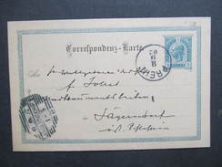 GANZSACHE Korrespondenzkarte Prein - Jägerndorf 1902 /// D*27781 - 1850-1918 Imperium