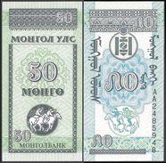 Mongolia 50 MONGO ND 1993 P 51 UNC (Mongolei, Mongolië, Mongolie) - Mongolia