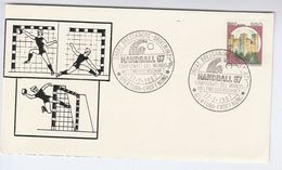 1987 World HANDBALL CHAMPIONSHIPS EVENT COVER Bressanone Italy Stamps Sport - Hand-Ball