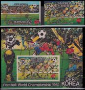 Soccer Football Korea #2090/1 + Bl 92 1982 World Cup Spain MNH ** - Coupe Du Monde