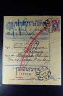 Russian Latvia : Money Order 1913 Kurland Libau - 1857-1916 Impero
