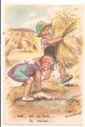 Illustrateur - Germaine BOURET - Moi, çà M'botte,...la Moisson. - Bouret, Germaine