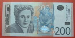 SERBIA 200 DINARA 2013, UNC - Serbie