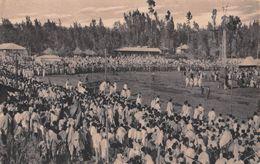 "06695 ""ETIOPIA - ADIS ABEBA - FESTA DEL MASCHEL"" ANIMATA, ROTOFOLGORE ITALIANA TORINO. CART  NON SPED - Etiopia"