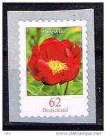Bund 2014, Michel # 3121 ** Pfingstrose  Selbstklebend, Self-adhesive Aus Markenbox (500) - Unused Stamps